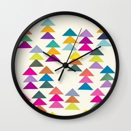 Lost in a Forest Wall Clock