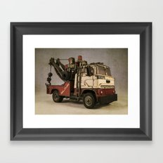 Wrecking Truck  Framed Art Print