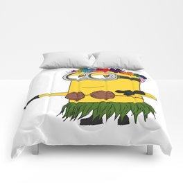 Hawaii Minion  Comforters