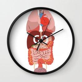 Go Organic Full Wall Clock