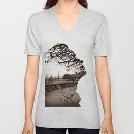 From Paris with Love Unisex V-Neck