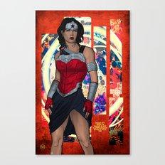 Amazon Warrior Canvas Print