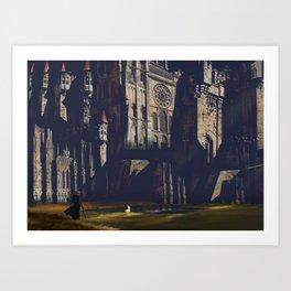Whitestone Castle Art Print