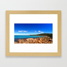 Point Picquet Framed Art Print