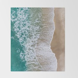 Surf II Throw Blanket