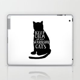 Keep Calm Warrior Cats Laptop & iPad Skin