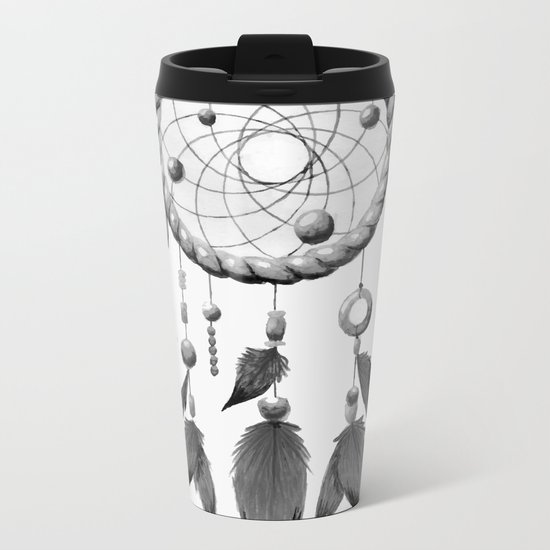 Dream Catcher Metal Travel Mug