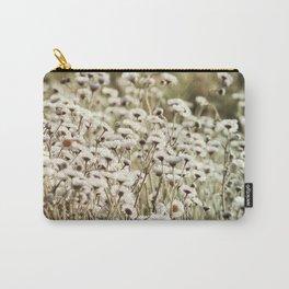 Fleabane Wild Aster Daisy Flowers en Masse Carry-All Pouch