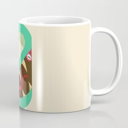2Snake Mask Coffee Mug