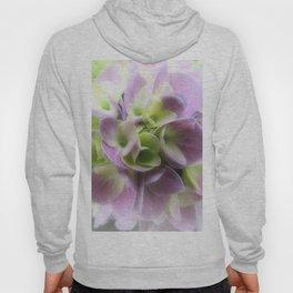Blue Hydrangea Flower A422 Hoody
