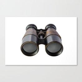 Vintage binoculars Canvas Print