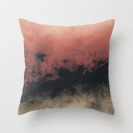 Zero Visibility Dust Throw Pillow