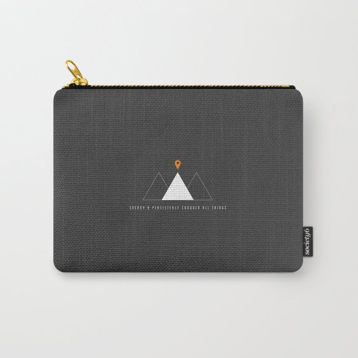 Energy and Persistence Carry-All Pouch