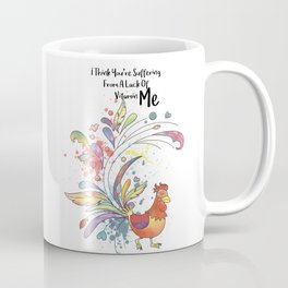 Lack Of Vitamin ME - I think you are suffering from a Lack of Vitamin Me - Happy Valentines Day Coffee Mug
