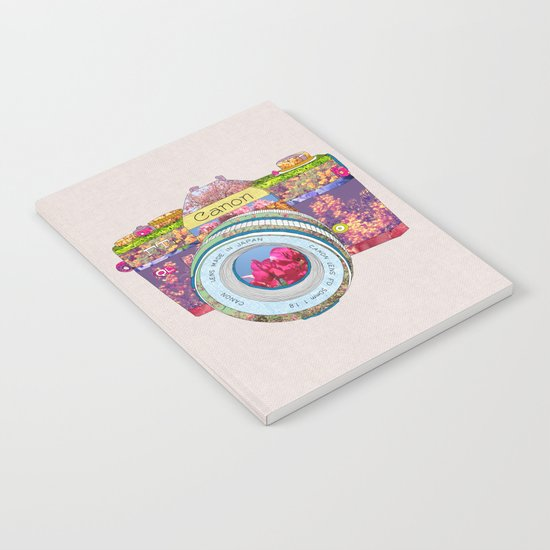 FLORAL CAN0N Notebook