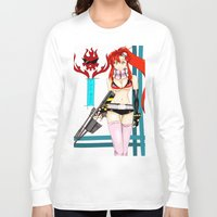 gurren lagann Long Sleeve T-shirts featuring The Bae by Passcooall