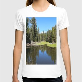 Morning Serenity At The Yellowstone NP T-shirt