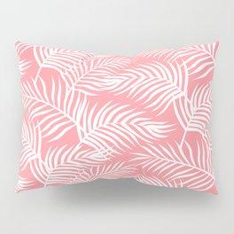 Palm Leaves_Pink Pillow Sham