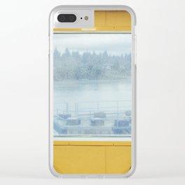 Bainbridge Ferry Clear iPhone Case