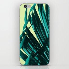 Palm leaves  #buyart #decor #society6 iPhone Skin