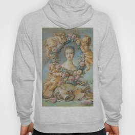 """François Boucher """"Madame de Pompadour"""" (1754) Hoody"""