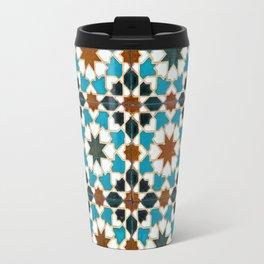 Moorish tiles Travel Mug