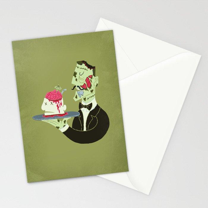 Brain Food Stationery Cards