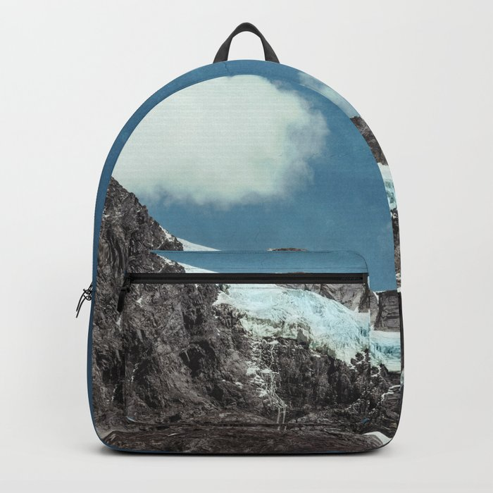 mountains and ice Backpack