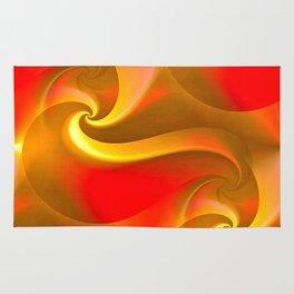 Whirly Curly (orange) Rug