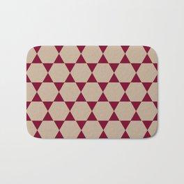 Hexagon Bath Mat