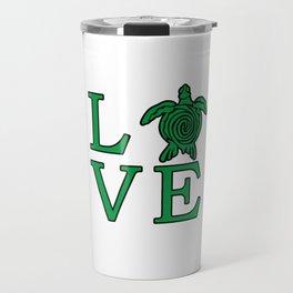 Turtle Love Travel Mug