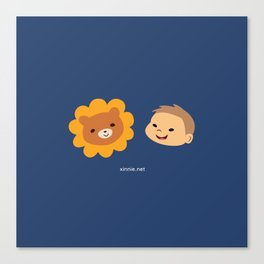 Alistair and Guardian Lion-O Canvas Print