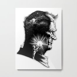 The Boy is Sire to the Man Metal Print