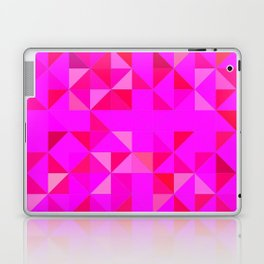 Pink triangles Laptop & iPad Skin
