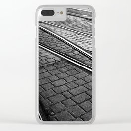Evening Commute Clear iPhone Case