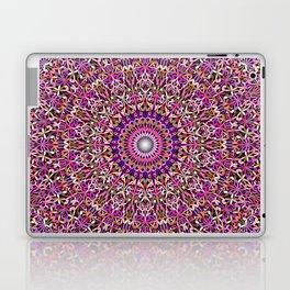 Colorful Girly Lace Garden Mandala Laptop & iPad Skin