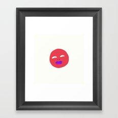 So Many Feelings Framed Art Print