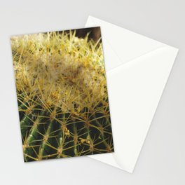 Golden Barrel Cactus Stationery Cards