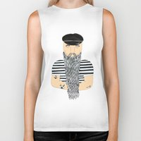 sailor Biker Tanks featuring Sailor. by WEUSEDTODANCE