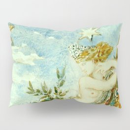 """Gustave Moreau """"The Peacock Complaining to Juno"""" Pillow Sham"""