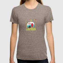 Travel Trailer - Happy Trails Ahead T-shirt