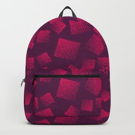 Square Design with Bubbles Backpack