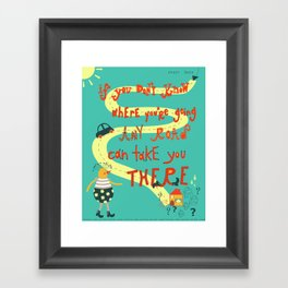 If you don't know.. Framed Art Print