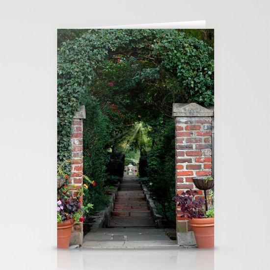 Walk Toward the Light Stationery Cards