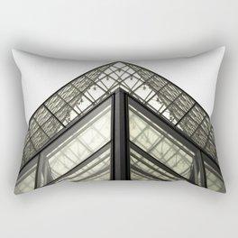 Abstract Louvre Rectangular Pillow