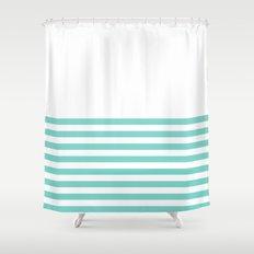 Tiffany Blue Half Stripe