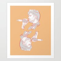 zayn Art Prints featuring Zayn by heyitsmme