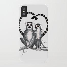 Lemur L'amur iPhone Case