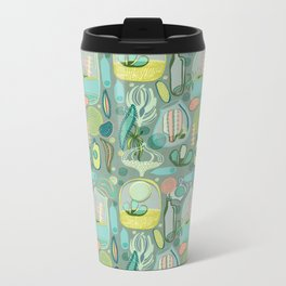 Cacti Terrariums Metal Travel Mug