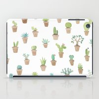 cacti iPad Cases featuring Cacti by Yardia